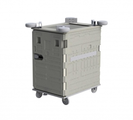 Professional insulated containers for train journeys