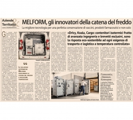 MELFORM: the innovators of the cold chain