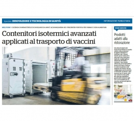 Advanced insulated containers for vaccine storage and transport